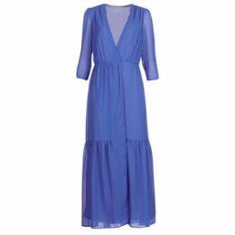See U Soon  GARAGADE  women's Long Dress in Blue