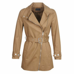 Ikks  BN42035-65  women's Trench Coat in Beige