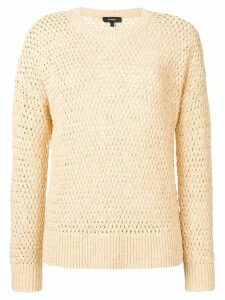 Theory open-knit jumper - Neutrals
