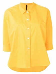 Sara Lanzi short-sleeved shirt - Yellow