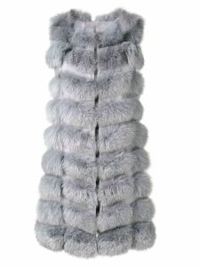 Liska padded gilet coat - Grey