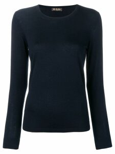 Loro Piana knitted top - Blue