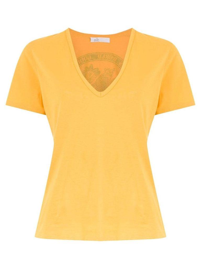 Nk printed top - Yellow