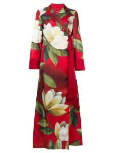 F.R.S For Restless Sleepers printed shirt dress - Red
