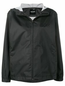 A.P.C. hooded parka - Black