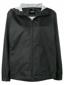 A.P.C. hooded parka - Black
