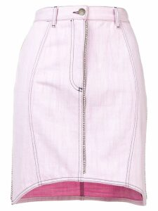 Marco De Vincenzo crystal embellished skirt - Pink
