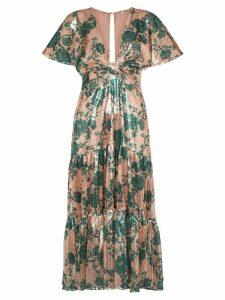 Johanna Ortiz modern muse sequin-embellished dress - Green