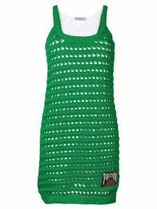 Prada crochet knit dress - Green
