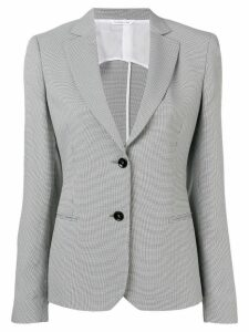 Tonello houndstooth fitted blazer - Black