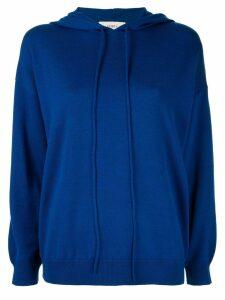 Ports 1961 long sleeve hoodie - Blue