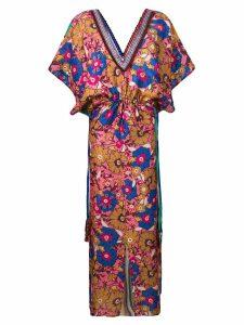 Anjuna Ariella printed maxi dress - Pink