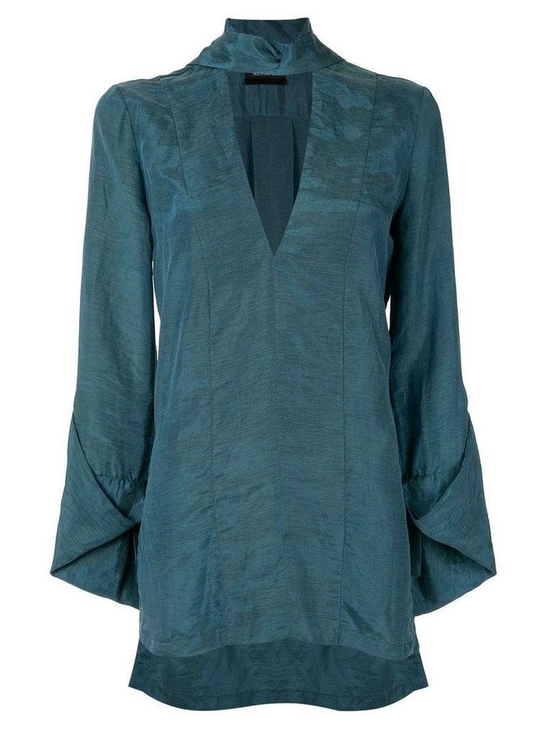 Kitx Fleeting tie shirt - Blue