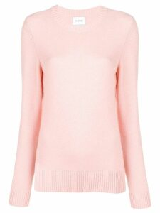 Barrie round neck knitted pullover - Pink