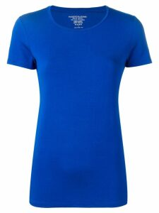 Majestic Filatures round neck fitted T-shirt - Blue