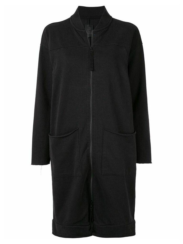 Thom Krom long sweater-jacket - Grey