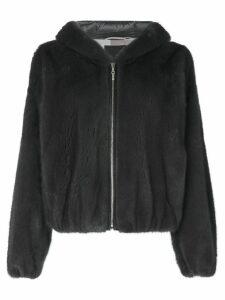 Liska zipped hooded jacket - Grey