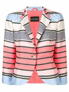 Emporio Armani classic single-breasted blazer - Pink