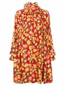 Mm6 Maison Margiela oversized dress - Red