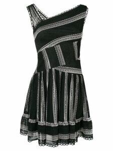 Three Floor Shortay dress - Black