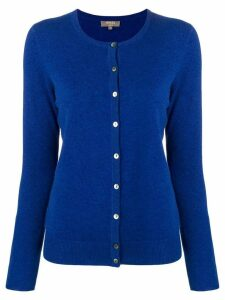N.Peal round neck cardigan - Blue