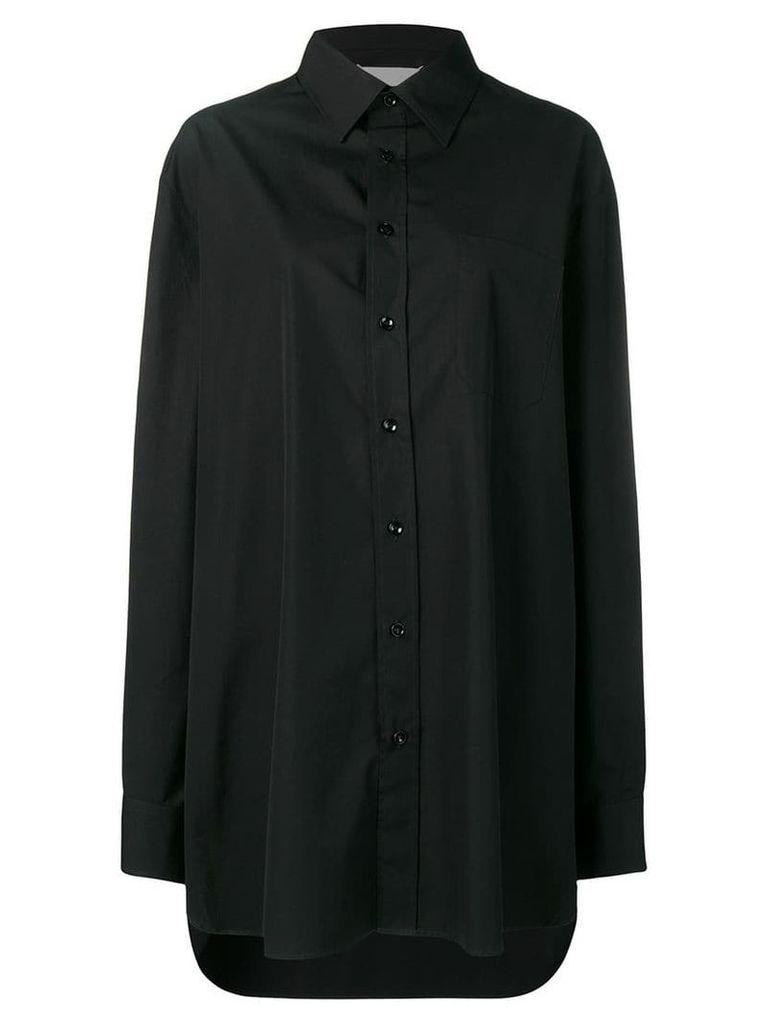 Maison Margiela oversized shirt - Black