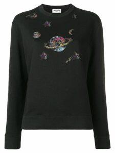 Saint Laurent SL Galaxy sweatshirt - Black