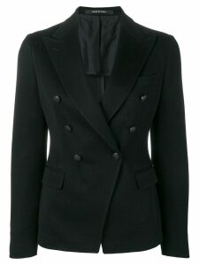 Tagliatore double-breasted blazer jacket - Black