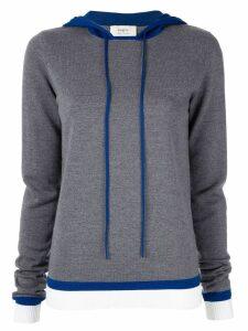 Ports 1961 long sleeve hoodie - Grey
