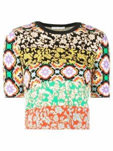 Alice+Olivia Ciara crew neck sweater - Multicolour