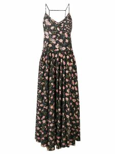 Zadig & Voltaire Fashion Show floral print maxi dress - Black