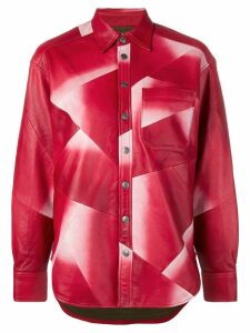 Zadig & Voltaire Fashion Show Tais oversized shirt - Red