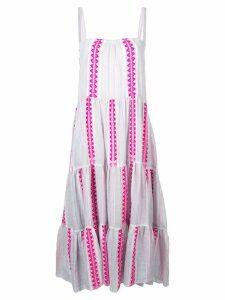 Lemlem Ribani tiered maxi dress - Pink