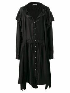 Faith Connexion X NVDS oversized shirt dress - Black