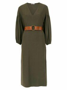 Nk belted midi dress - Green
