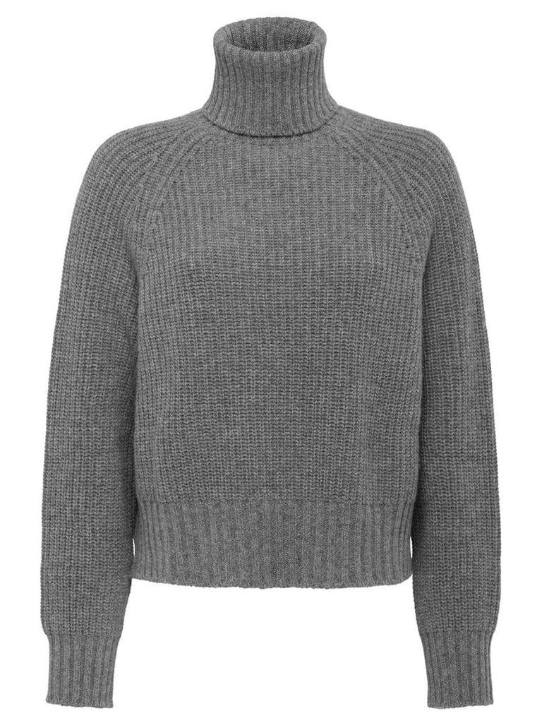 Prada roll neck jumper - Grey