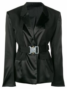 1017 ALYX 9SM buckle belt blazer - Black