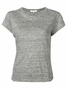 FRAME round neck marl T-shirt - Grey