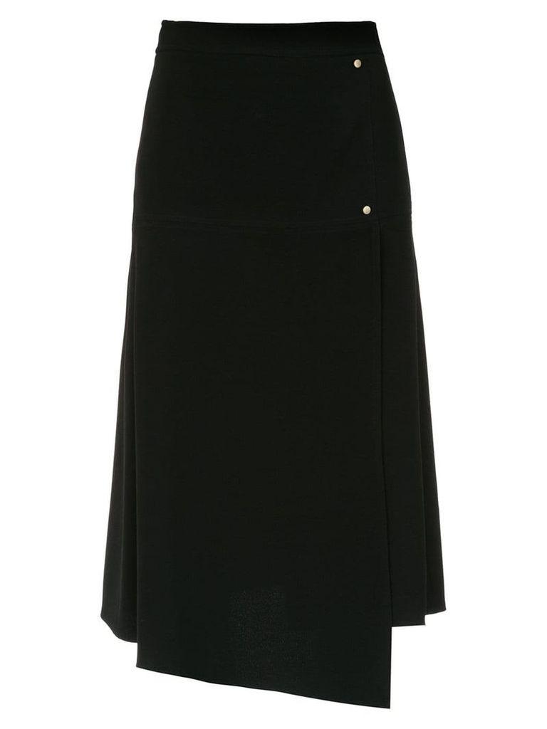 Nk panelled midi skirt - Black