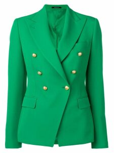 Tagliatore double-breasted blazer jacket - Green