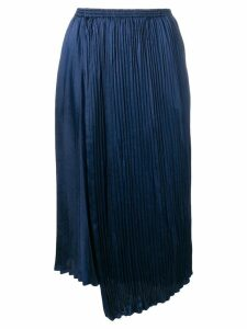 Vince pleated midi skirt - Blue