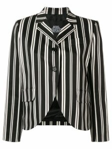 Marc Jacobs humbug stripe tailored jacket - Black