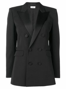 Saint Laurent double breasted blazer - Black