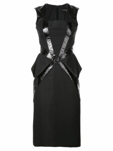 Rubin Singer paneled dress - Black