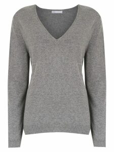 Nk v-neck knitted sweater - Grey