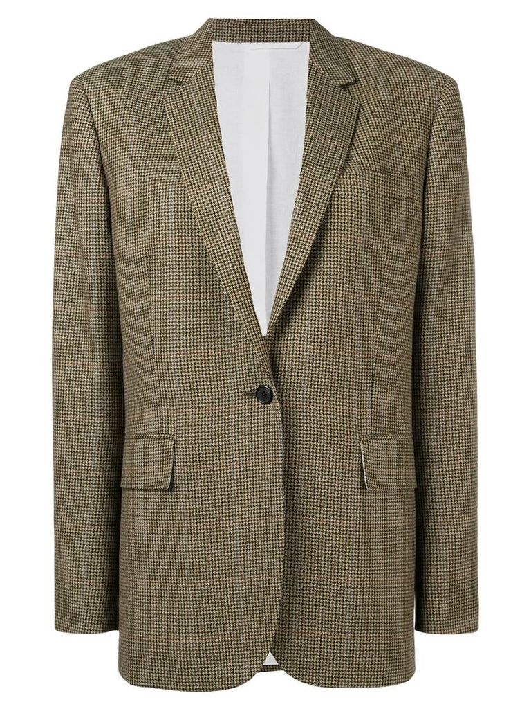 Calvin Klein 205W39nyc box fit blazer - Green