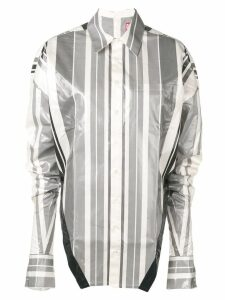 Diesel Red Tag striped metallic shirt - White