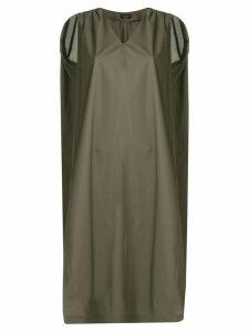 Roberto Collina boxy fit dress - Green