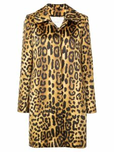 Adam Lippes leopard print coat - Multicolour