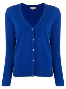 N.Peal V-neck cardigan - Blue